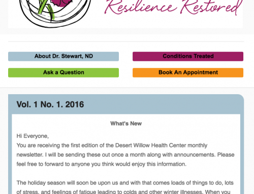 Desert Willow Health Center Newsletter