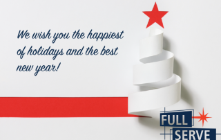 we wish you the happiest of holidays and the best new year
