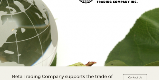 Beta Trading Company Website