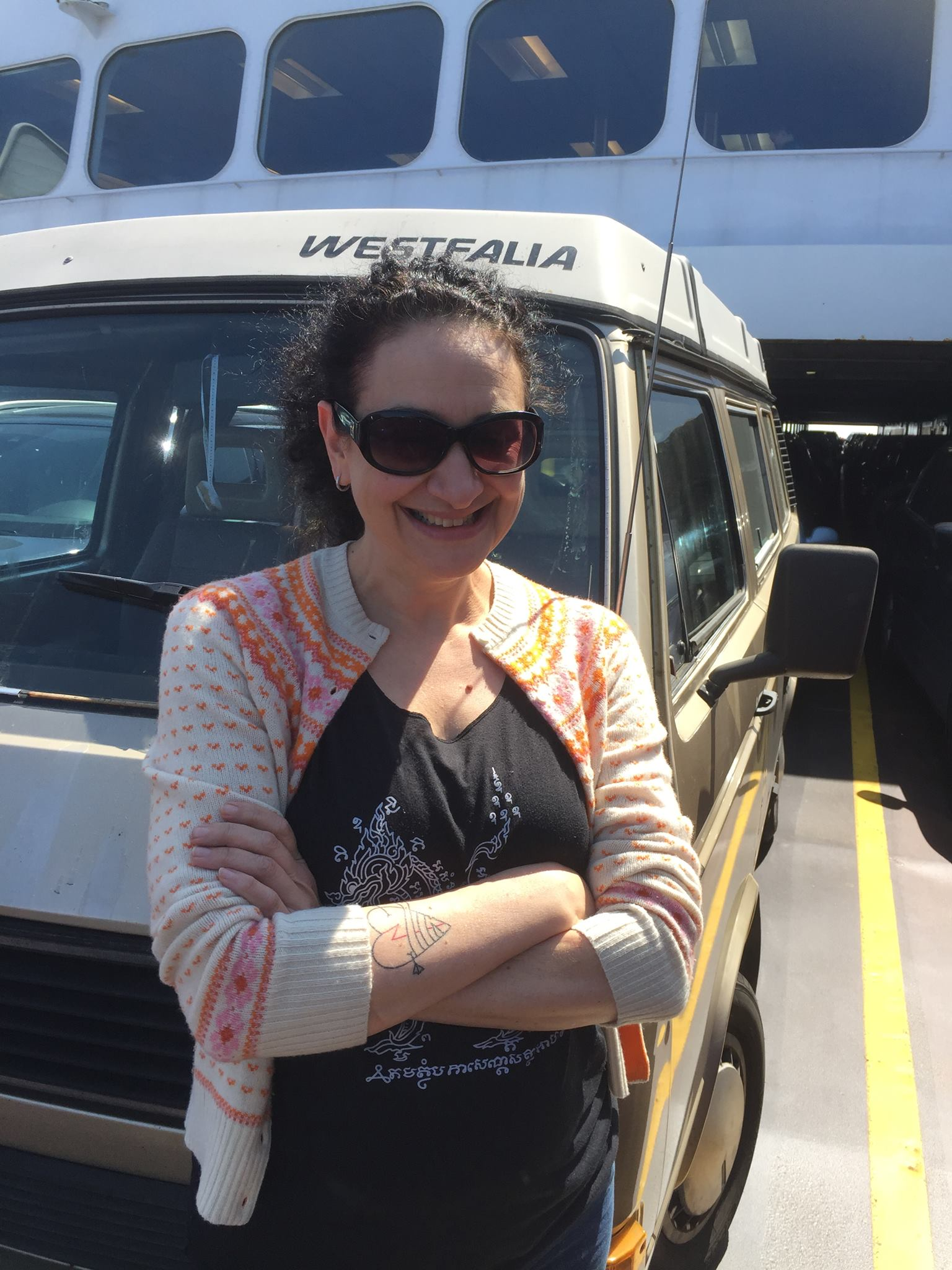 Westfalia on the Ferry