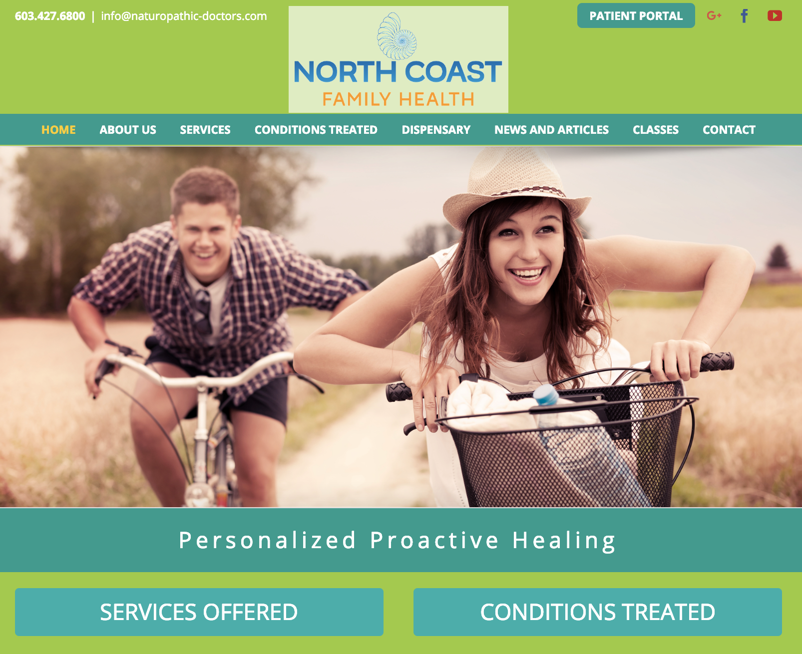 home page restyle