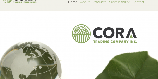 Website for Wholesale and Imports Co Vancouver